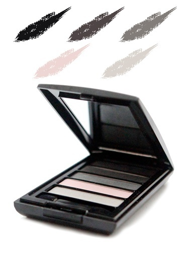 Tca Studio Make Up Eyeshadow Palette 5 Smokey Eyes Renkli